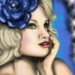 art digitaldrawing drawing portrait woman