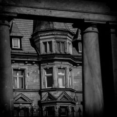 blackandwhite photography architecture wroclaw poland