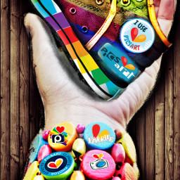 colorful picsartinhand clipart art beautifypicsart