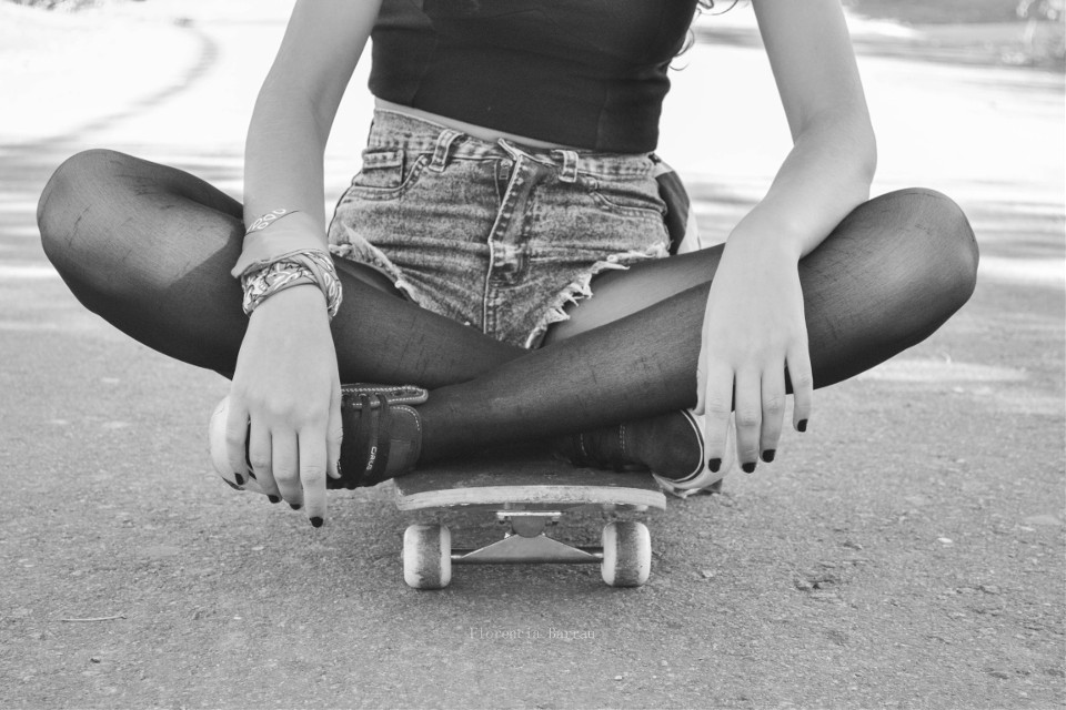 #people #photography #blackandwhite #retro #skate #freetoedit