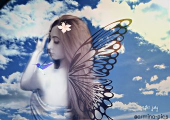 edited photography angel artistic