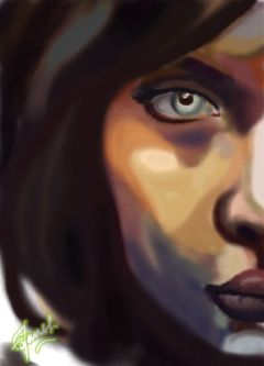 face digitalart eyes beautifull