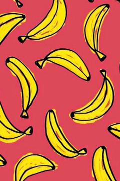 Wallpaper Background Minions Banana