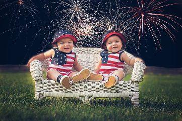 fireworks baby love popart portrait