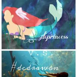 vs mermaids drawing improvement