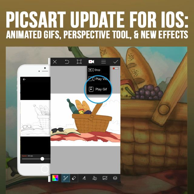 PicsArt photo editor iOS update
