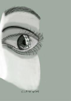 eye pencilart art digitalart draw