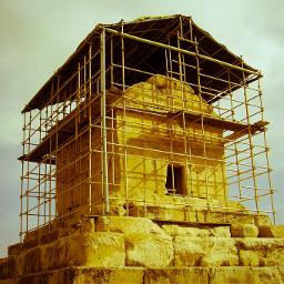 tomb iran photography