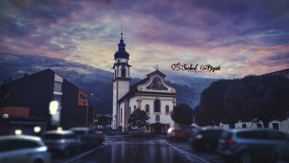 Austria / Birgitz Galaxy s5  #rain #winter #photography #love #people #hdr #retro #nature #colorful #travel