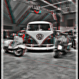 volkswagen vespa holga antique retro