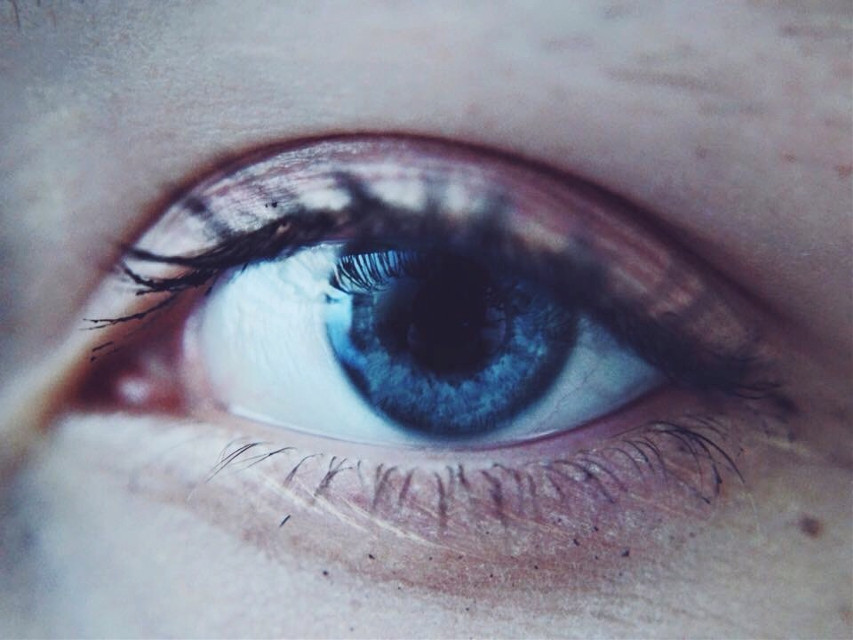 Sickness of the mind  #eyes  #blueeyes  #selfportrait  #macrophotography