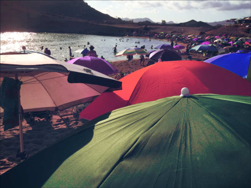 #hue  #summer  #beach  #umbrella