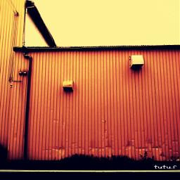 factory outside wall neighborhood route254