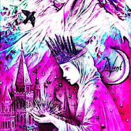myedit fantasyart pink