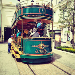 travel photography losangeles sunny tram