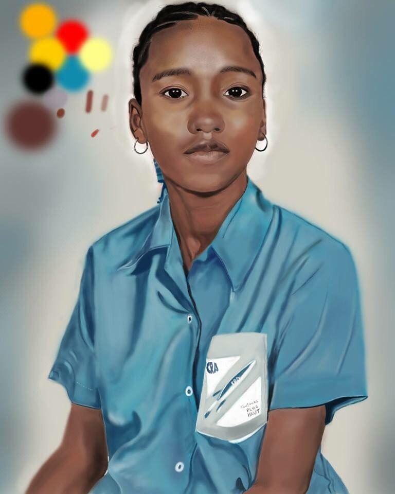 Portrait of a friend of mine     @MrCreator ArtB